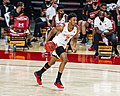 Aaron Wiggins dribbling down court vs Old Dominion at Xfinity Center, November 25th 2020 (All Pro Reels Photography).jpg