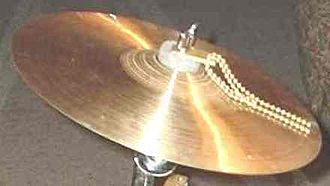 "Splash cymbal - Paiste 11"" trad splash with sizzler"