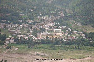 Poonch district, Pakistan - Abbaspur, a small town in Poonch District