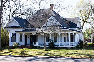 National Register of Historic Places listings in Angelina County, Texas - Image: Abercrombie Cavanaugh House (1 of 1)