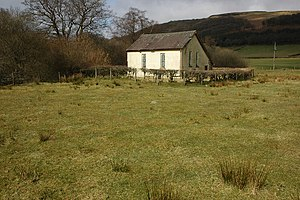 English: Abergwesyn church The small church of...