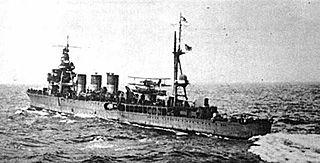 Japanese cruiser <i>Abukuma</i> Imperial Japanese Navy light cruiser