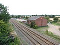 Acle railway station - former goods shed and coal yard - geograph.org.uk - 1477402.jpg
