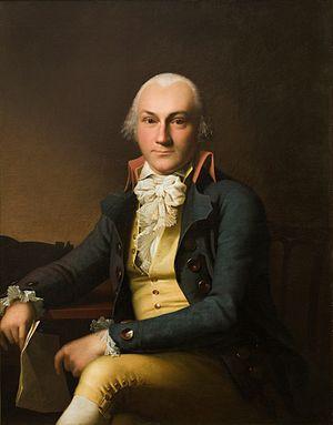 Adam Levin Søbøtker - Adam Levin Søbøtker painted by Jens Juel in 1792
