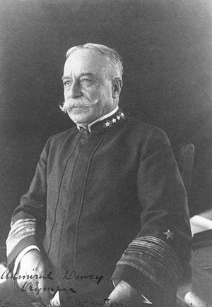 Admiral of the Navy (United States) - Image: Admiral Dewey NH 50564