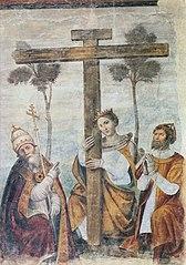 Adoration de la Croix avec les saints Constantin, Hélène et Sylvestre