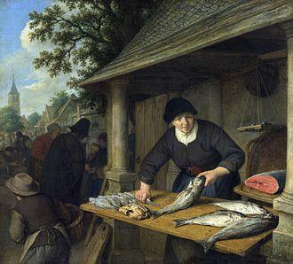 Fishwife - Image: Adriaen van Ostade 009