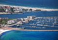 Aerial view Yacht Harbour Residence Rostock Yachthafenresidenz Hohe Düne 6.jpg