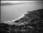 Aerial view of Milford, Auckland, ca 1920s-1940s.jpg