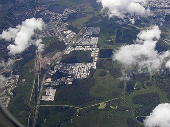 Aerial view of S.R. 54 and Tampa Bay Executive Airport, Odessa, Florida.jpg