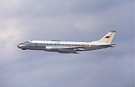 Aeroflot Tupolev Tu-124V at Arlanda, April 1967.jpg
