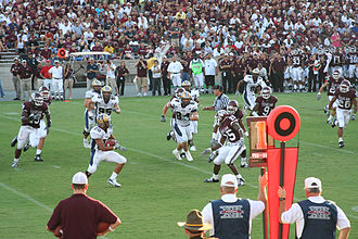 2007 Texas A&M Aggies football team - The Bobcats on one of their possessions
