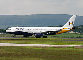 Airbus A330-200 Monarch Airlines GLA.jpg