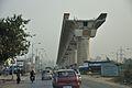 Airport-Garia Metro Railway under Construction - Eastern Metropolitan Bypass - Kolkata 2015-12-23 7528.JPG