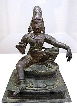 Aiyanar, South India, c. 14th century AD, bronze - Matsuoka Museum of Art - Tokyo, Japan - DSC07172.JPG