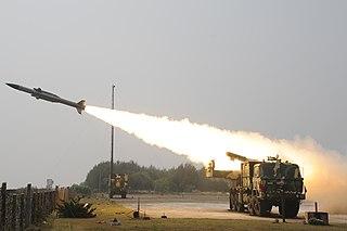 Akash (missile) Indian missile defense system