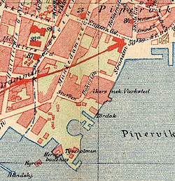 Aker Brygge map 1900.jpg