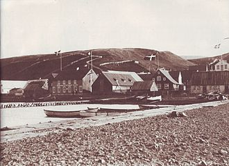 Akureyri - Akureyri in the late 19th century