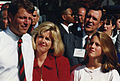 Al Gore with wife and daughter 1992.jpg