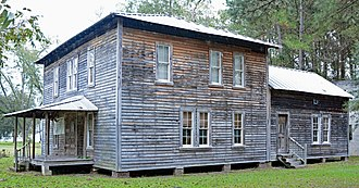 National Register of Historic Places listings in Berrien County, Georgia - Image: Alapaha Colored School, Alapaha, GA, US