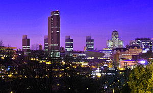 Neighborhoods of Albany, New York - Albany skyline