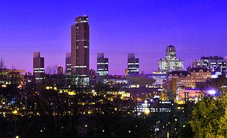 Neighborhoods of Albany, New York - Albany skyline