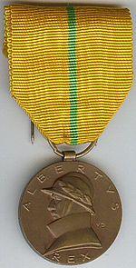 Albert I commemorative medal Belgium.jpg