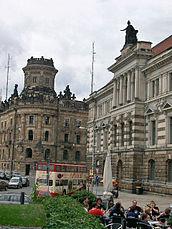 Albertinum and police headquarters, Dresden.jpg