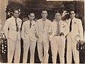 Alberto Segismundo Cruz and Pres. Manuel Quezon's press staff..jpg