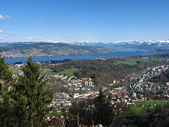 Pfannenstiel (Zürich) - Pfannenstiel as seen from nearby Felsenegg