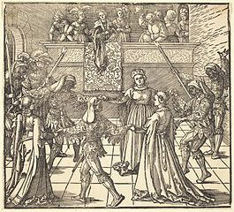 Masquerade Dance with Torches