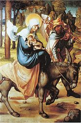 Albrecht Dürer: Flight to Egypt