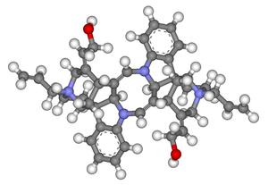 Alcuronium chloride - Image: Alcuronium 3d