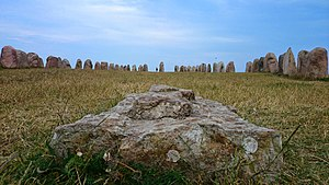 Ale's Stones - Ale's Stones at Kåseberga, around ten kilometres southeast of Ystad.