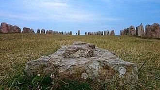 Ale's Stones - Ale's Stones at Kåseberga, around ten kilometres southeast of Ystad.