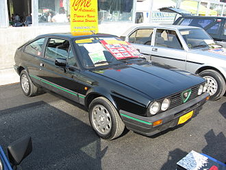 Alfa Romeo Sprint - Alfa Romeo Sprint 1.7 Quadrifoglio Verde (1983–1987)