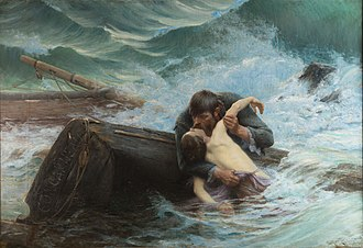 Alfred Guillou - Goodbye! (1892)