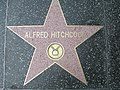 Alfred Hitchcock Walk of fame.jpg