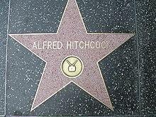 Stella di Alfred Hitchcock sulla Hollywood Walk of Fame, Los Angeles (California).