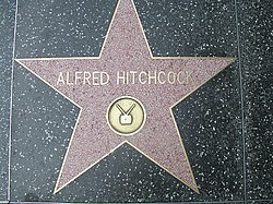 Alfred Hitchcock Walk of fame.jpg