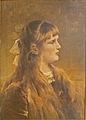 Alfred Stevens - Dromend meisje.JPG