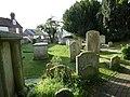 All Saints', Lewes, churchyard (II) - geograph.org.uk - 2706304.jpg