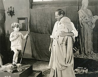 Mickey Moore - Mickey Moore, Jack Holt and Mary Miles Minter in All Soul's Eve (1921)