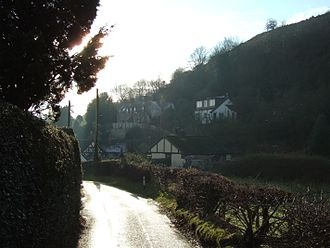 All Stretton - Coming down from Castle Hill