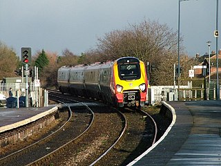 Allens West railway station Railway station in County Durham, England