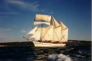 Alma Doepel - Image: Alma Doepel Under Sail
