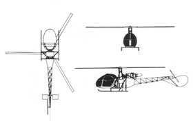 Image illustrative de l'article SNCASE SE.3130 Alouette II