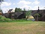 Alte Sauerbrücke vom Echternacher Ufer aus gesehen