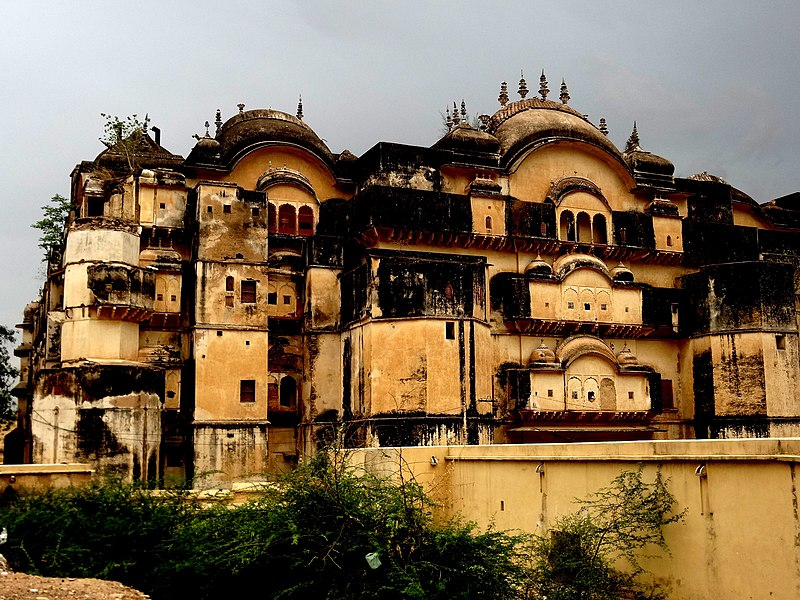 The haunted palace of Alwar
