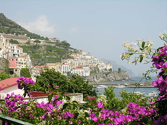 Amalfi - View of Amalfi
